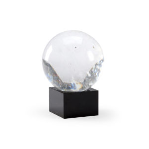 Black Seven-Inch Crystal Ball