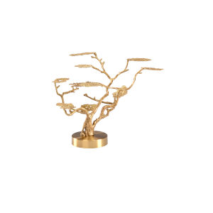Brass 23-Inch Tree Home Decor