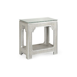 Yangon Silver Side Table