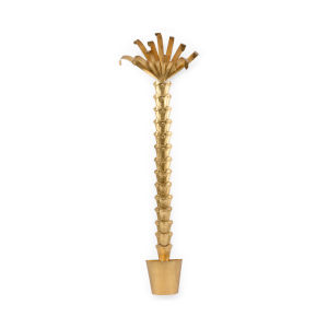 Antique Gold 26-Inch Palm Tree