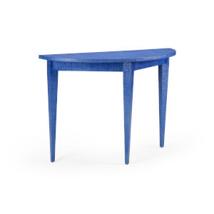 Swedish Blue 48-Inch Console Table