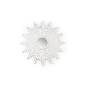 White 46-Inch Wall Mirror