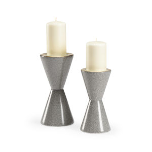 Skin Gray Candle Holder