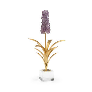 Purple and Antique Gold Hyacinth