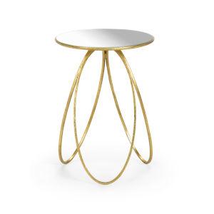 Gold 16-Inch Tri-Leg Table