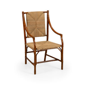 Mecklenburg Brown Arm Chair