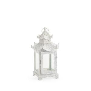 Birch White Nine-Inch Lantern