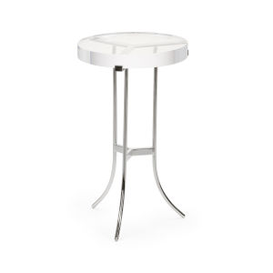 Ragsdale Silver Acrylic Side Table