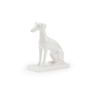 White 11-Inch Flossie Sculpture