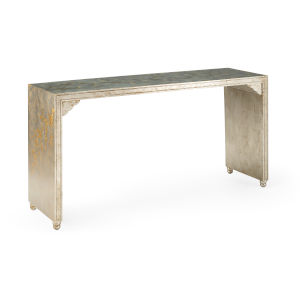 Gold and Silver Console Table