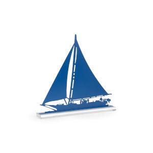 Regatta Blue 25-Inch Home Decor