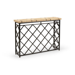Newton Black Console Table
