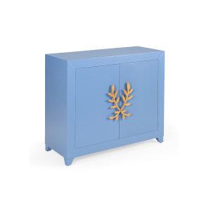 Longleaf Blue Door Cabinet