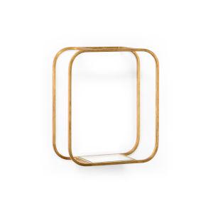 Gold Oval Bric Brac Bracket