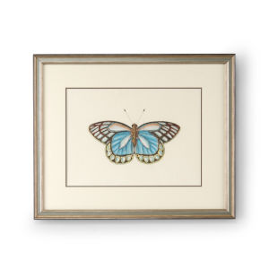 Antique Silver Butterfly II Wall Art