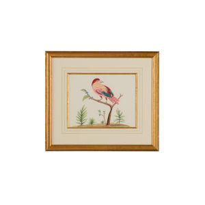 Pink and Blue Berries Wall Art