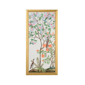 Gold Traditional Chinoiserie I Wall Art