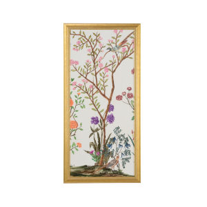 Gold Traditional Chinoiserie II Wall Art