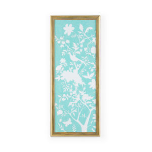 Gold Graphic Chinoiserie I Wall Art