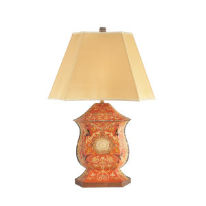 Ellington Antique Red One-Light Urn Table Lamp