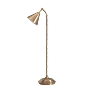 Coiffer Brass One-Light Desk Lamp