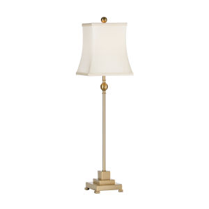 Kensington Antique Brass One-Light Table Lamp