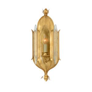 Stowe Antique Gold One-Light Wall Sconce