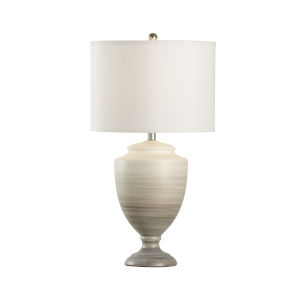 Sante Fe Cream and Gray One-Light 26-Inch Table Lamp