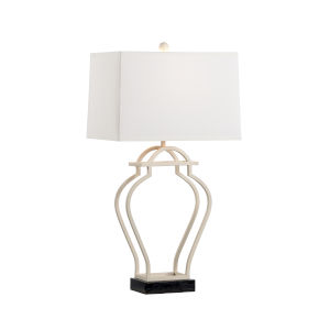 Nanjing White and Black One-Light Table Lamp