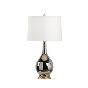 Baker Street Silver One-Light Table Lamp