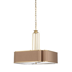 Dark Taupe 12-Light Pendant