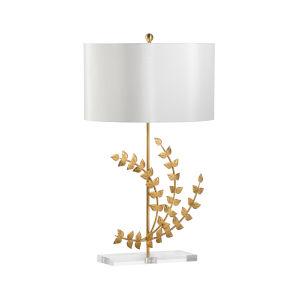 Flourish Gold One-Light Right Table Lamp
