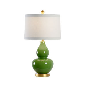 Apple Green One-Light Table Lamp