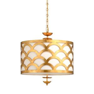 Echelle Gold Four-Light Pendant