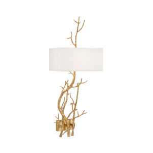 Gold One-Light Right Wall Sconce