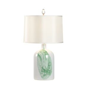 Longwood Green One-Light Leaf Table Lamp
