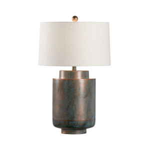 Lincoln Dark Brown One-Light Table Lamp
