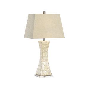 Bruce Cream One-Light Table Lamp