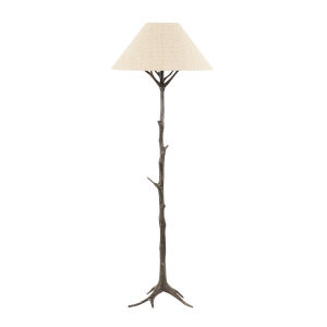 Sprigs Dark Bronze and Beige Table Lamp