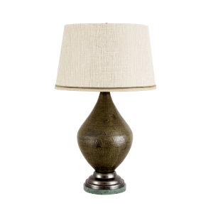 Stromboli Bronze Table Lamp
