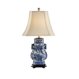 Blue Tang Blue and White Table Lamp