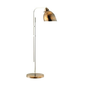Roxy Copper and Polished Nickel Table Lamp