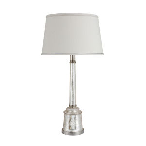 Jacqueline Satin Nickel Table Lamp