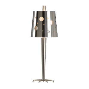Uber Brushed Nickel Table Lamp