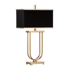 Valiant Antique Brass Table Lamp
