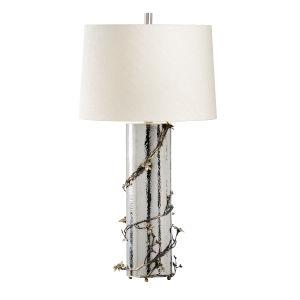 Sierra Polished Nickel Table Lamp