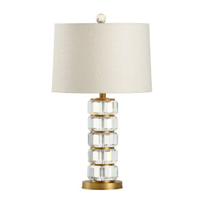 Heston Clear Table Lamp
