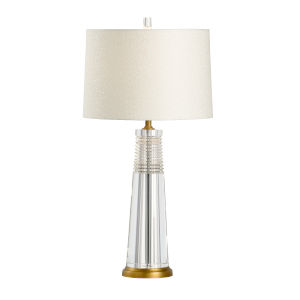 Hayden Clear Table Lamp
