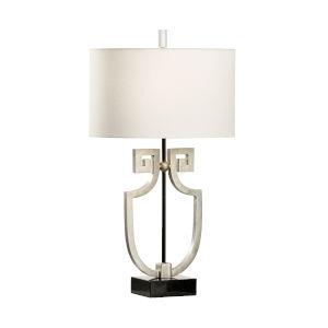 Apollo Antique Silver Table Lamp