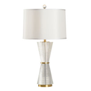 Gerkin Clear Table Lamp